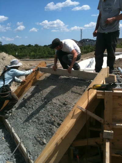carville skatepark construction