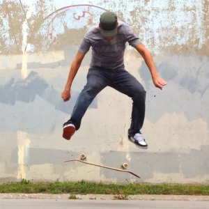 skateboardhere heelflip