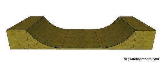 Skate Board Ramp >> A Skateboard Halfpipe Is A Dream To Skate