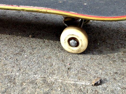 wheel flatspot